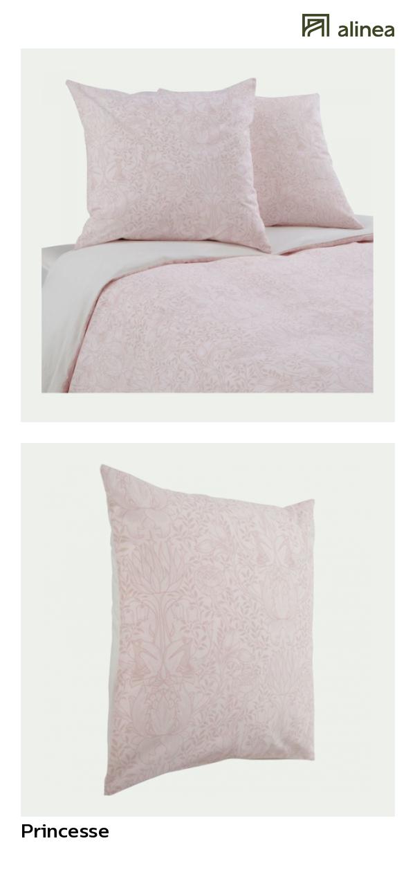 Alinea Princesse Housse De Couette 260x240cm Et 2 Taies D Oreiller A Motifs Textile Linge De Lit Parures De Lit Parure De Lit Linge De Lit Lit Confortable