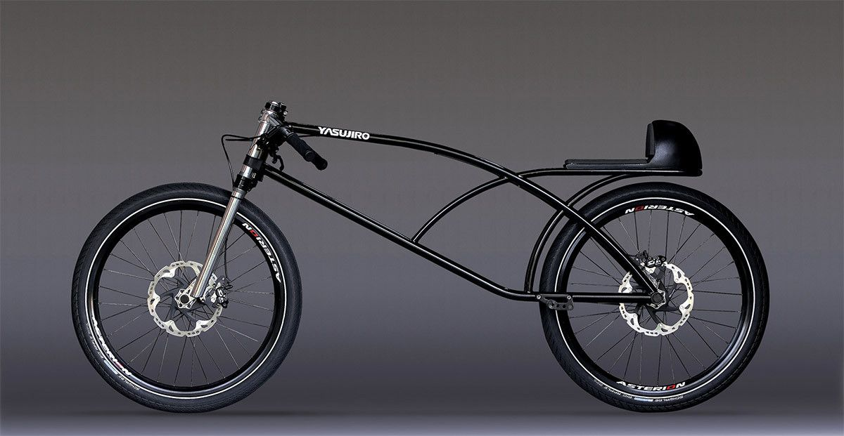 The Yasujiro Speedbike Asphalt Gravity Concept Bike