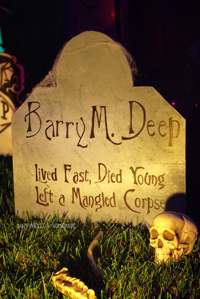 Decorate your house to the extreme for Halloween with these - funny halloween decorating ideas