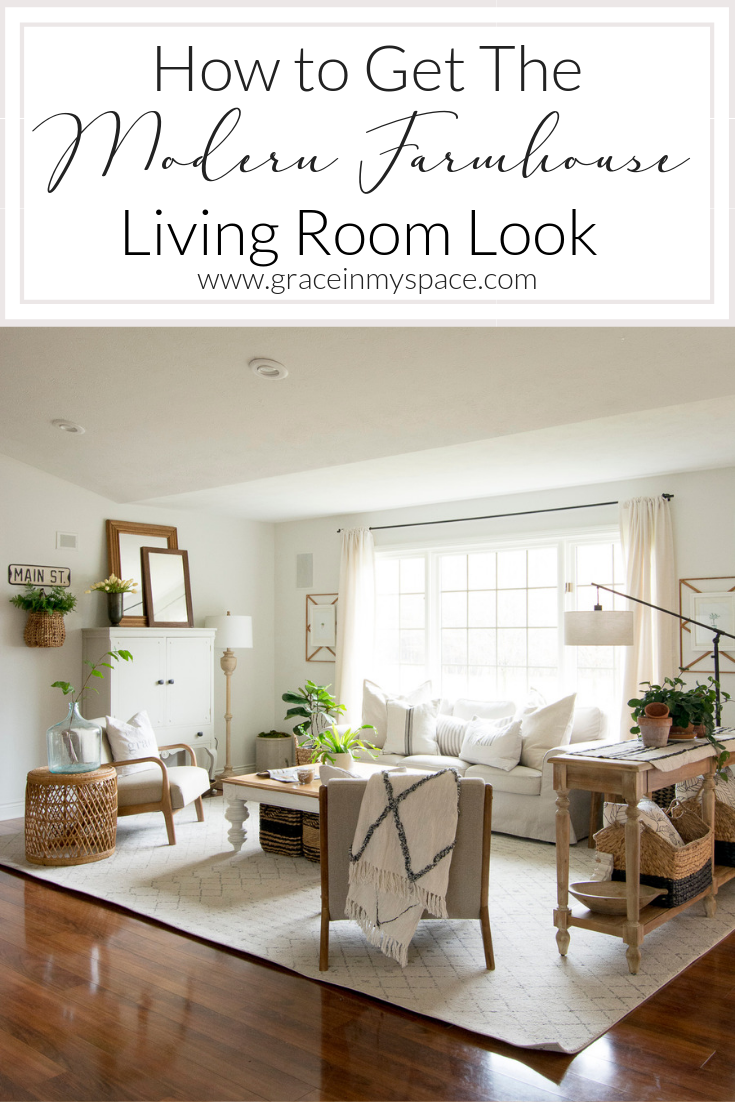 How To Get The Modern Farmhouse Living Room Look Modern Farmhouse Living Room Decor Farm House Living Room Modern Farmhouse Living Room