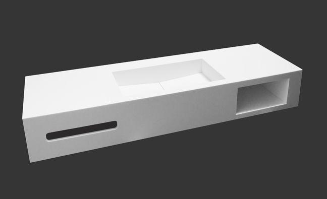 Design toiletfontein wastafel voor wc wc fontein van solid surface