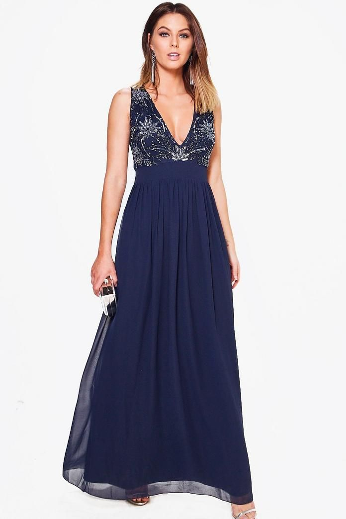 Boutique Melli Embellished Maxi Dress | Maxi dresses, Boohoo and ...