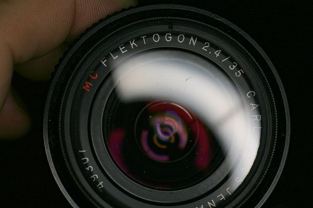 Carl Zeiss Jena Flektogon 35mm F 2 4 Zeiss Lens Camera Lens