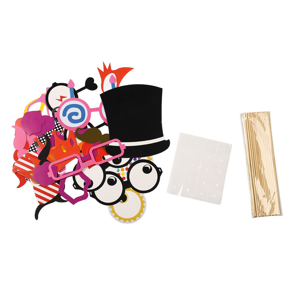 wedding photo booth props printable%0A DIY Photo Booth Props Baby Shower Halloween Christmas Birthday Accessories  Set   Price