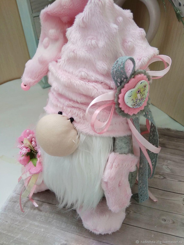 Волшебный Гном игрушка, подарок  гном оберег, gnomes. for  cozy home. gnom toy