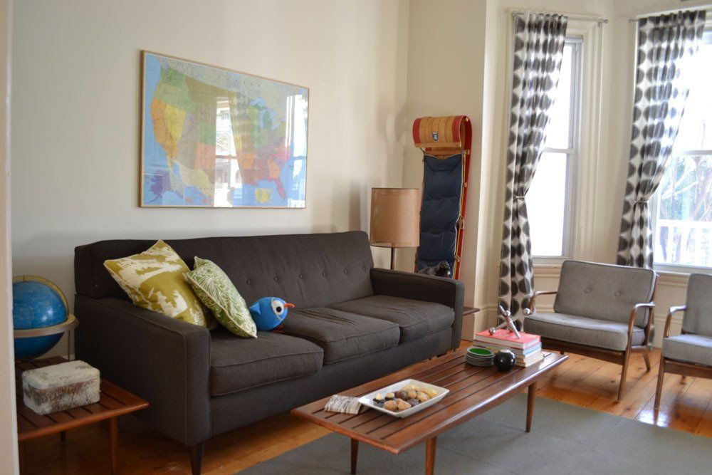 Andy & Andrew's Vintage Modern   Vintage modern living ...
