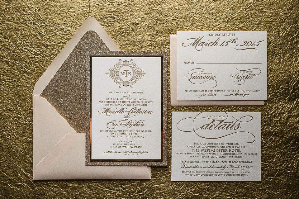 ABIGAIL Suite Fancy Glitter Package elegant wedding