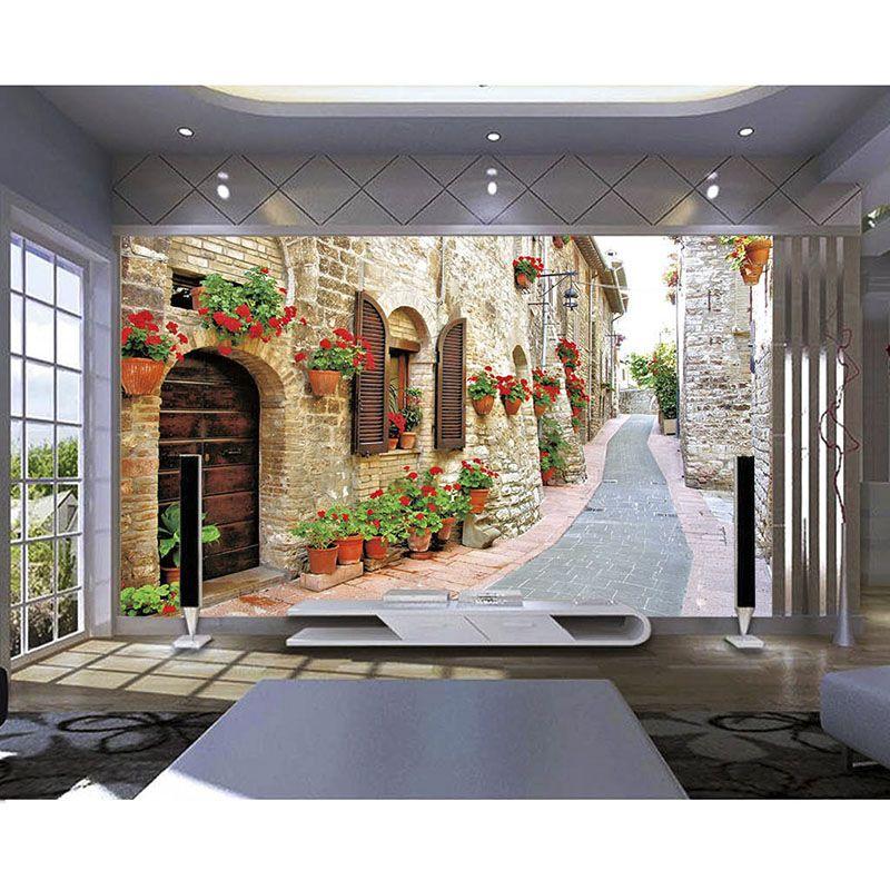 3D Murals Photo Waterproof Wallpaper 3D European