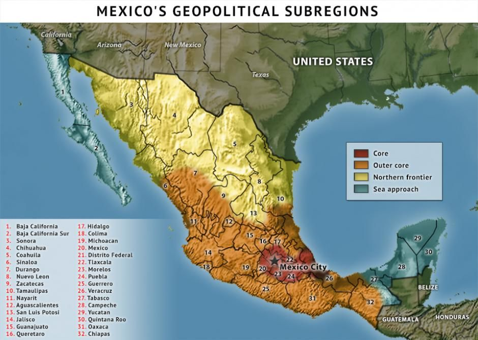 Explore Maps Mexico and more Pin by