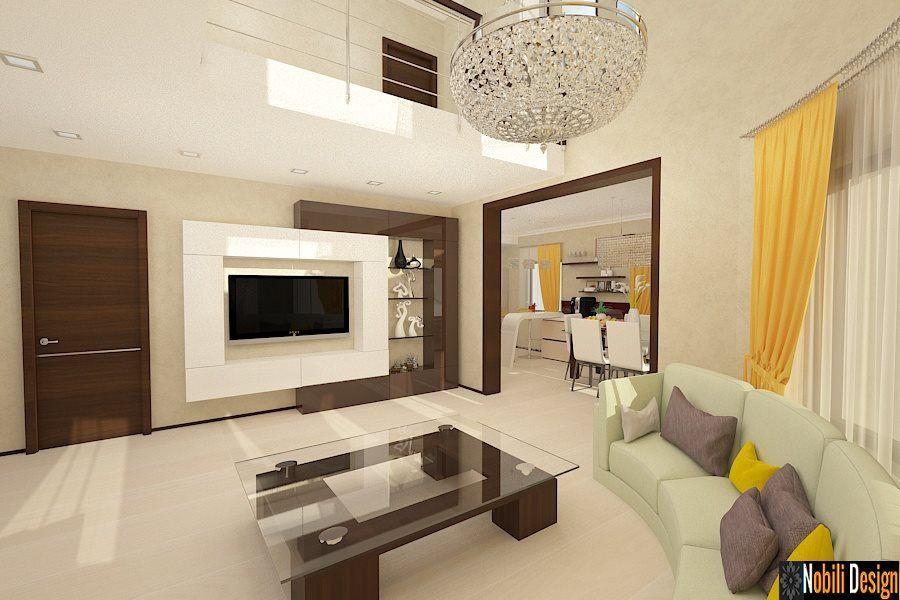 design interior living vila casa moderna bucuresti
