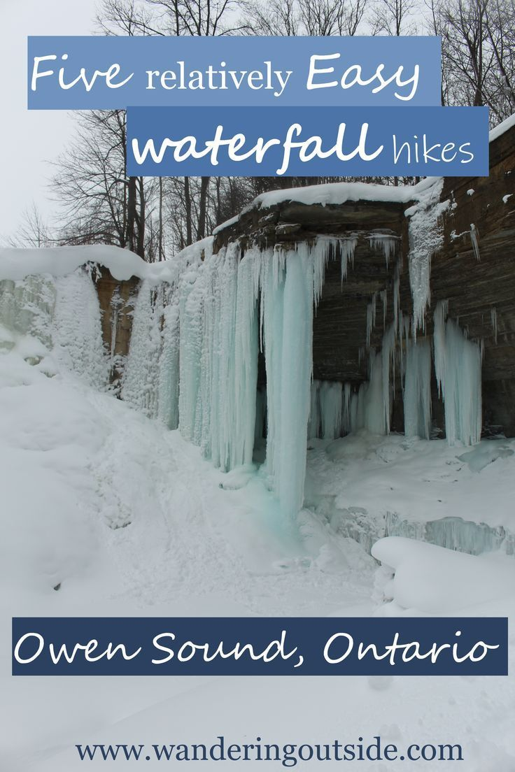 An all girls trip to beautiful Owen Sound had us speechless. Snowy trails and frozen waterfalls kept us busy all weekend long. We ended up at 5 different waterfalls and all equally as pretty. Read all about it!   #hiking #ontario #owensound #waterfalls #frozenwaterfalls #winter #wintergetaways #easytrails #explorecanada #ontariotravel #hikes #discoverontario #womenwhoexplore #girlswhowander #wanderlust
