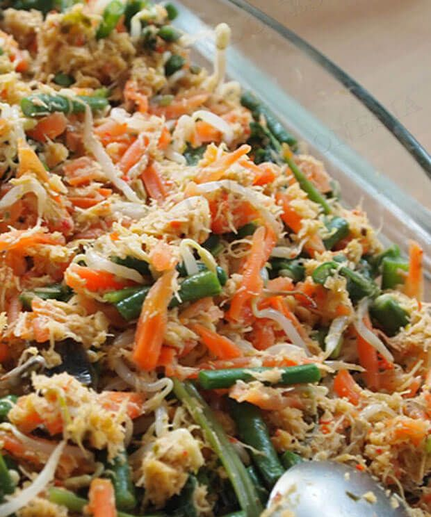 Urap Urap Masakan Khas Surabaya Resepkoki Co Resep Masakan Sehat Resep Masakan Masakan