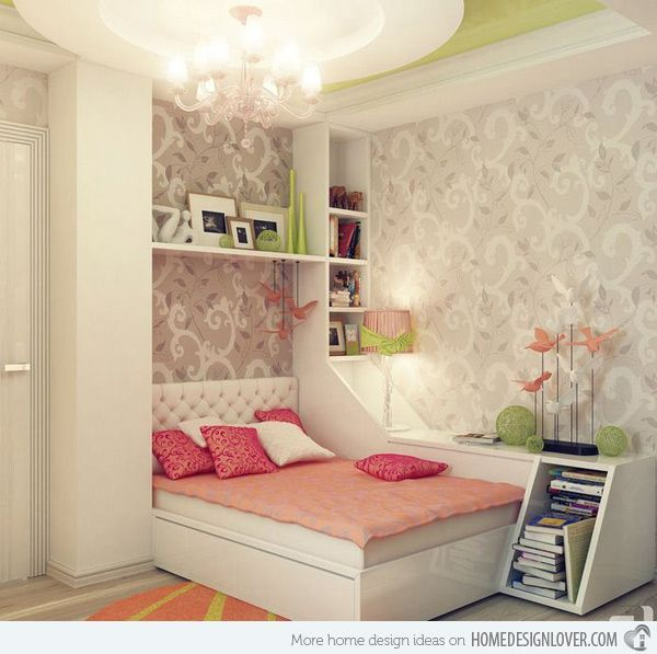 Gentil 20 Stylish Teenage Girls Bedroom Ideas