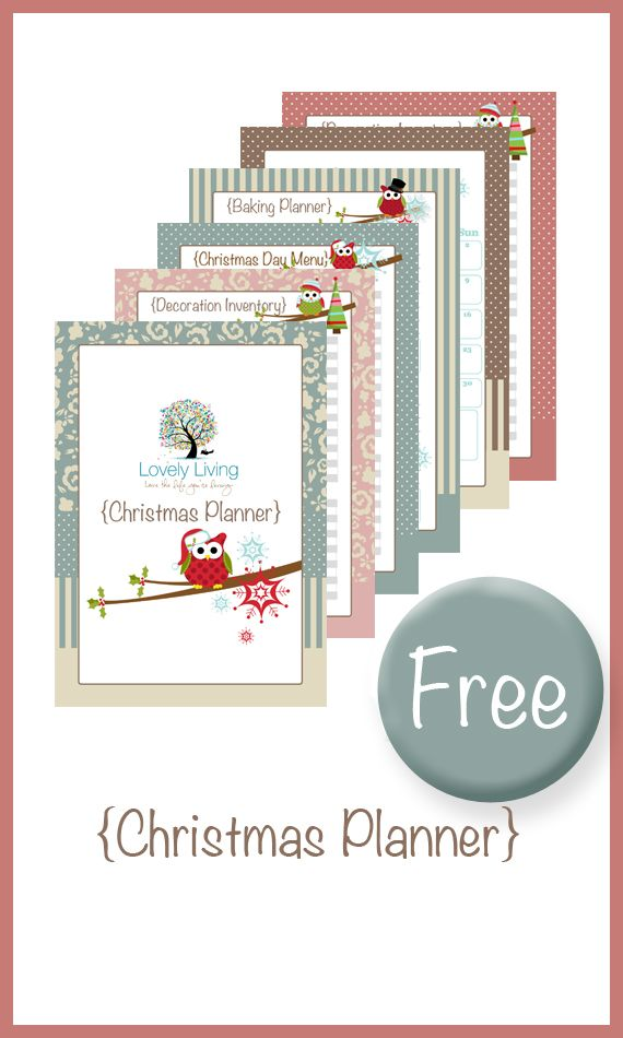 Christmas Planner Printable - 13 Pages!