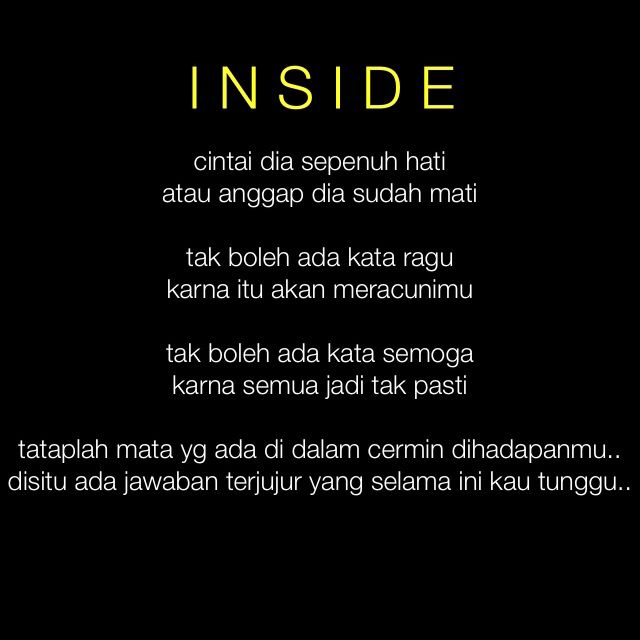 Puisi Inside Puisi Motivasi
