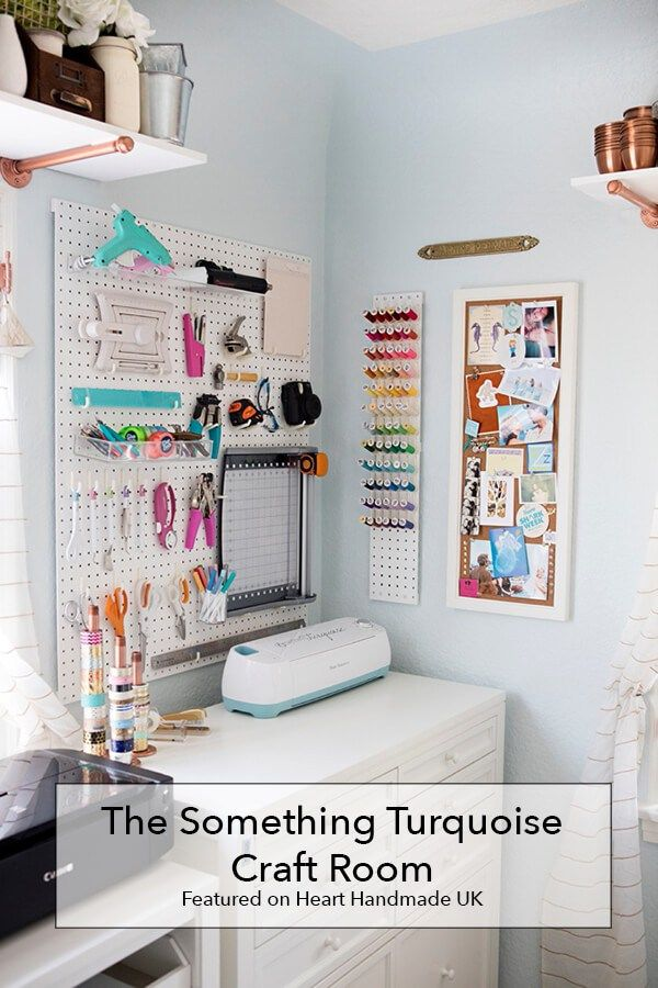The Something Turquoise Craft Room Using