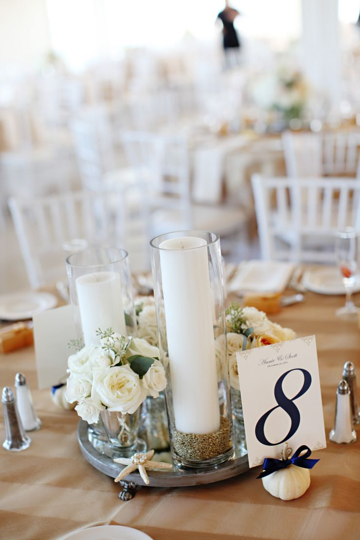 Consider white pumpkins for an elegant fall wedding. Photography by ...