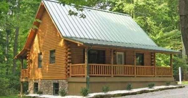picture this 1200sq ft log cabin kitshell kit on your property for 24000 - Shell Homes