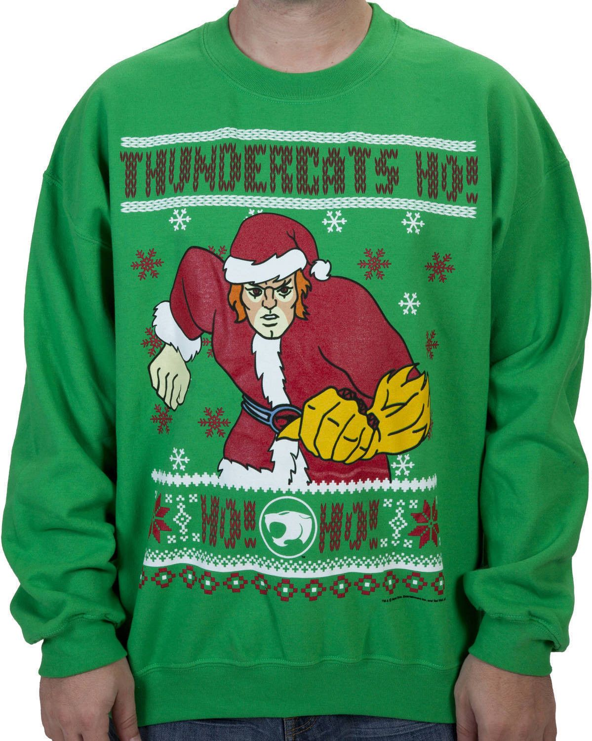 Thundercats Ugly Christmas Sweater Ugly Christmas Sweaters Every