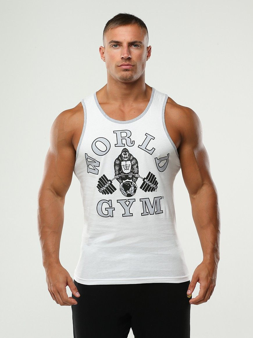 World Gym Athletic Tank Top