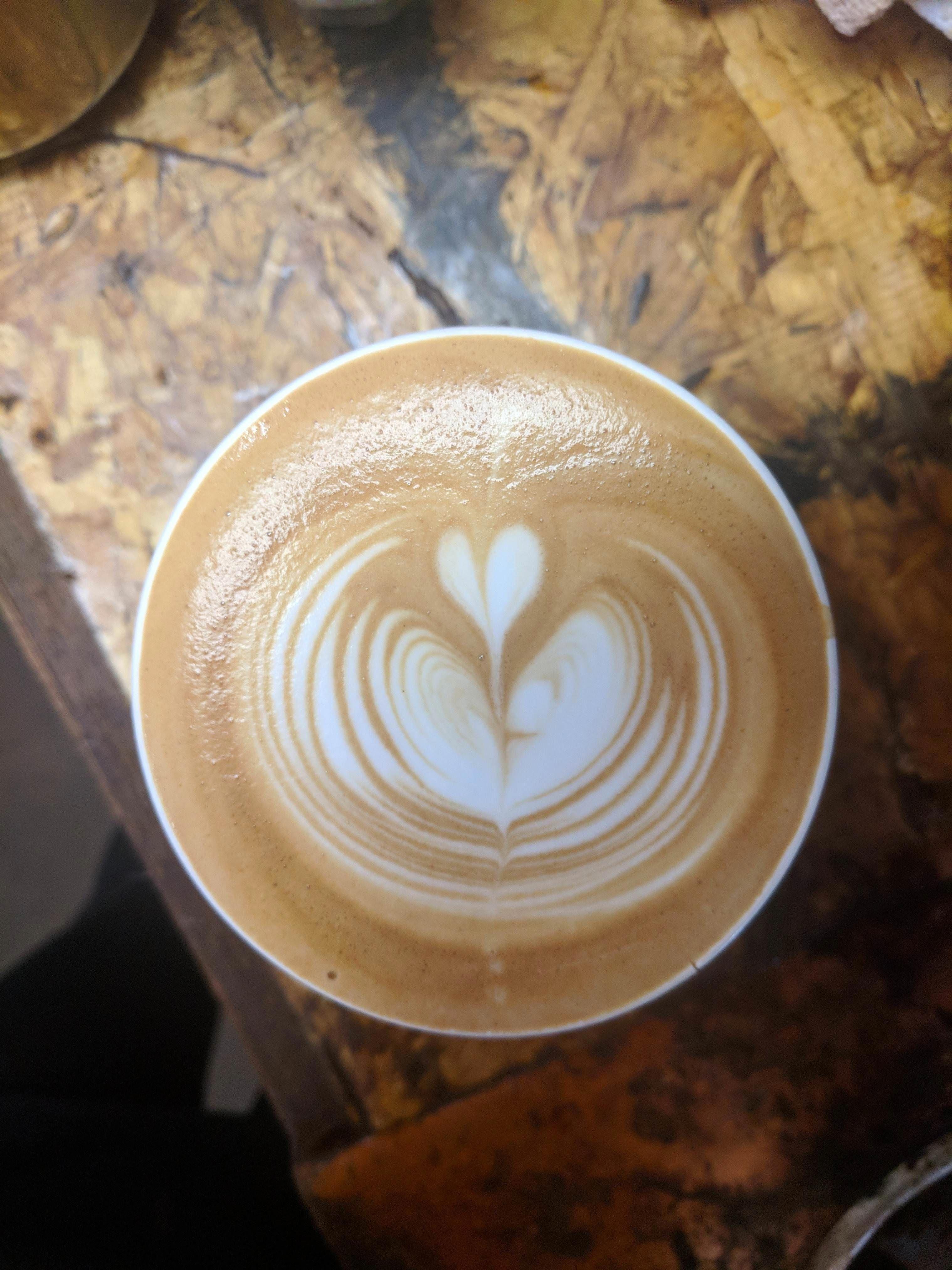 My first pseudo tulip!!! coffee cafe espresso