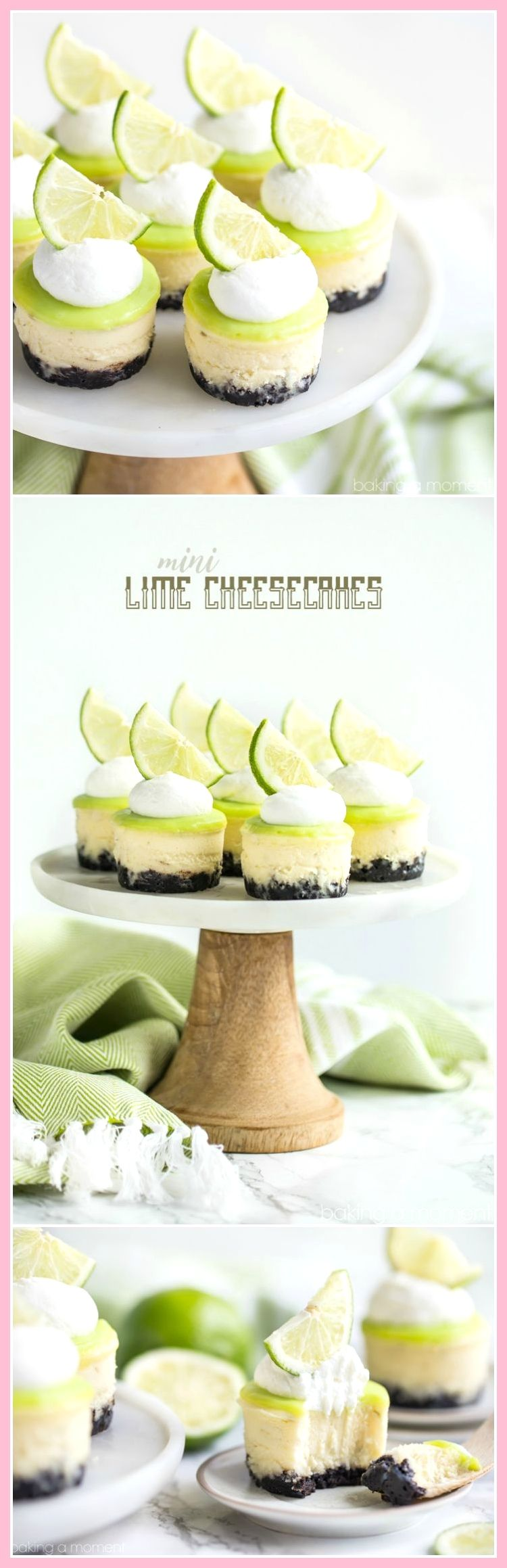 All Time Easy Cake : Lime Mini Cheesecakes with chocolate crust,  All Time Easy Cake : Lime Mini Cheesecakes with chocolate crust,