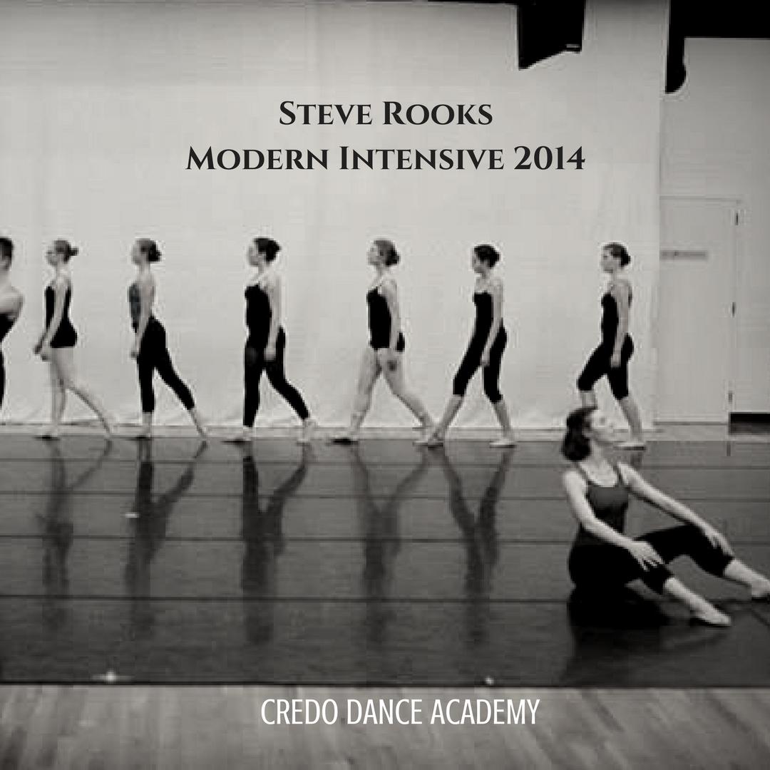 Modern Intensive With Steve Rooks Former Principal Dancer With Martha Graham Dance Company In 2014 At Credo Dance Acade Dance Academy Dance Instruction Dance