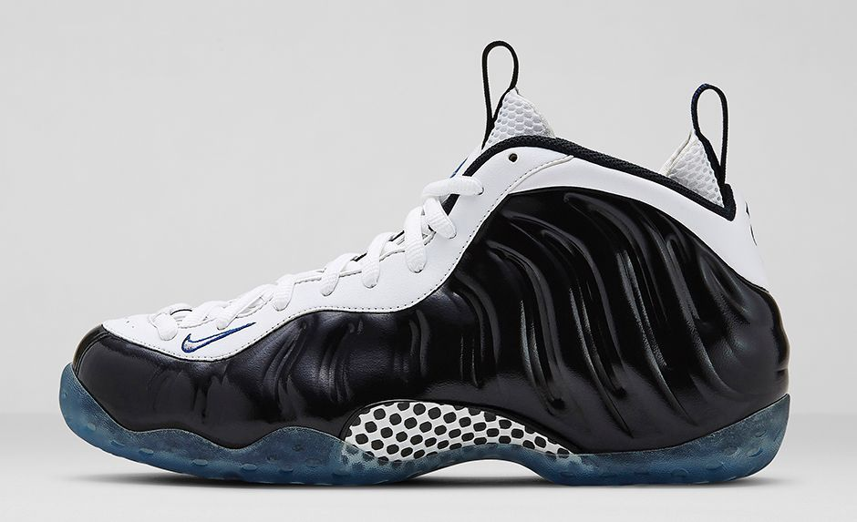 Nike Air Foamposite Pro White Black Shoes