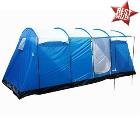A family c&ing tent with 5 rooms 8 Man 5 Room Large Family Tent for  sc 1 st  Pinterest & A family camping tent with 5 rooms 8 Man 5 Room Large Family Tent ...