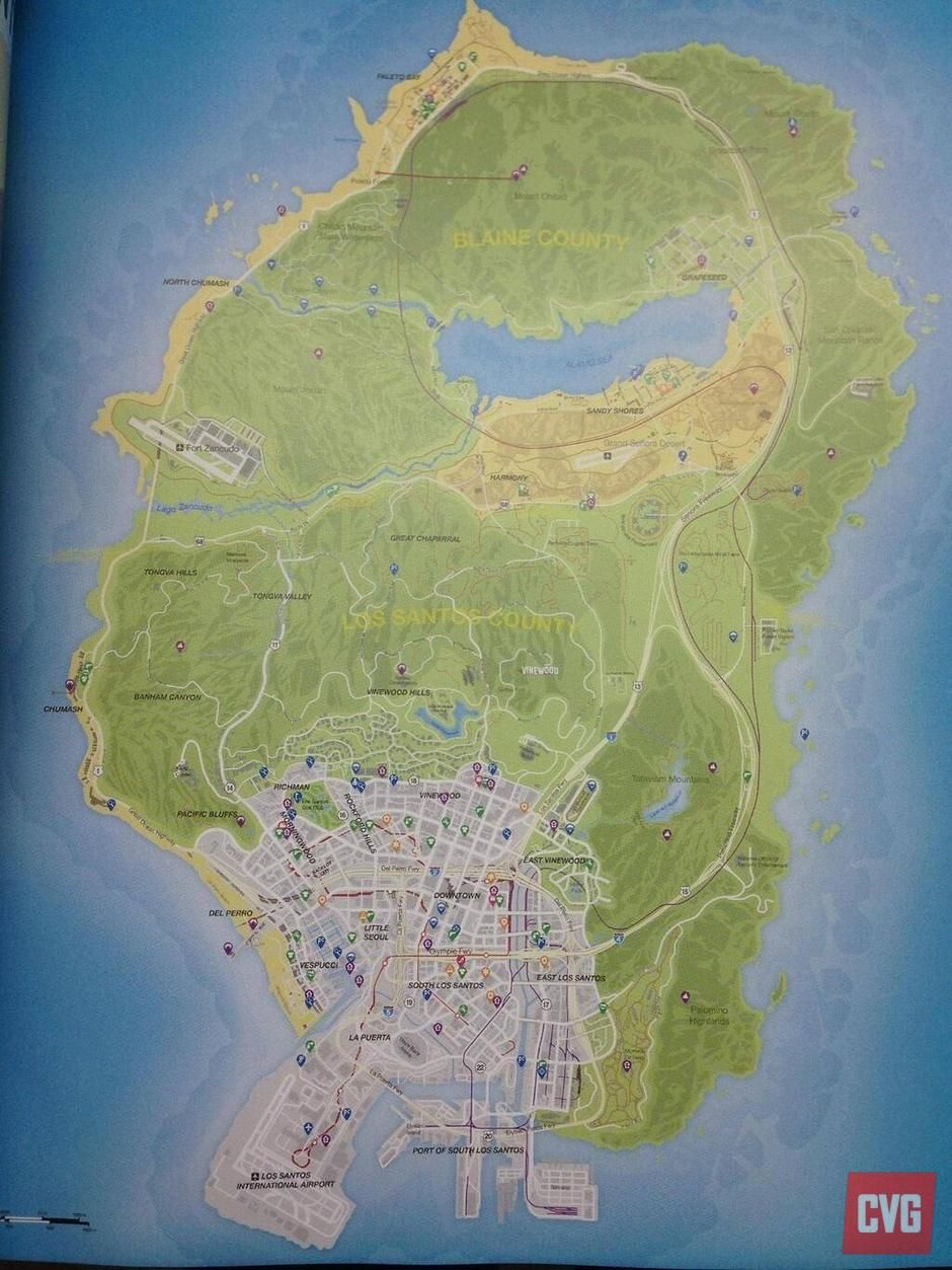 full gta 5 map leaked online