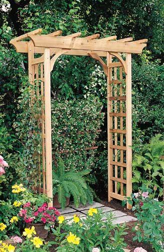 Rosedale Garden Arbor Pergola Garden Garden Structures Garden Arch