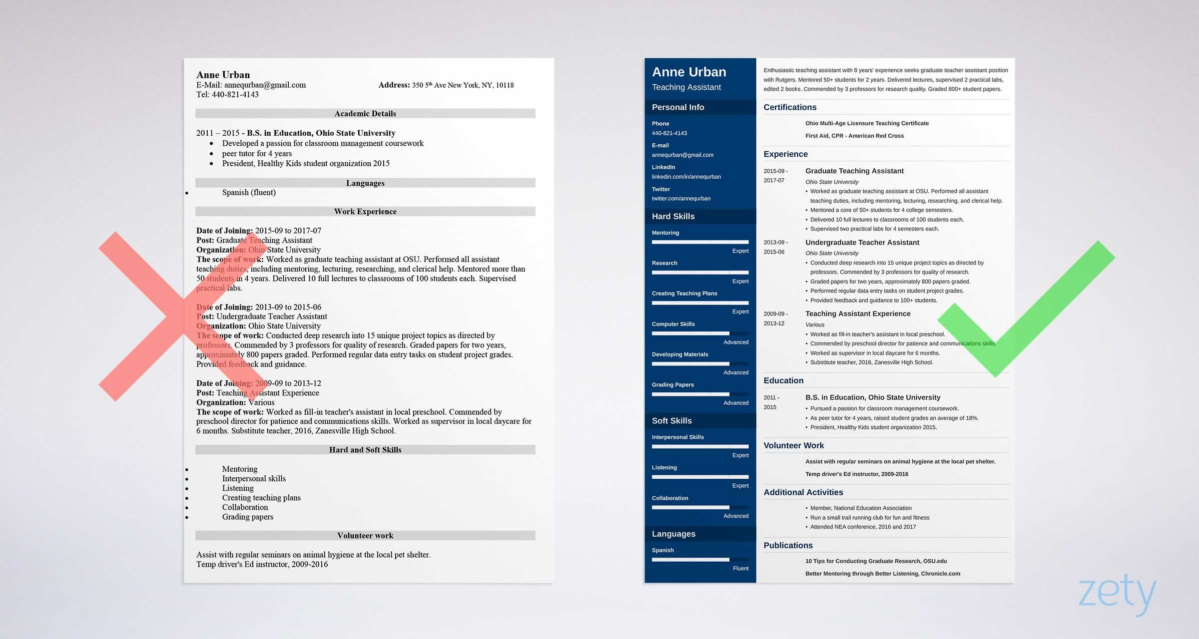 Best Font for a Resume Professional Fonts & What Size to