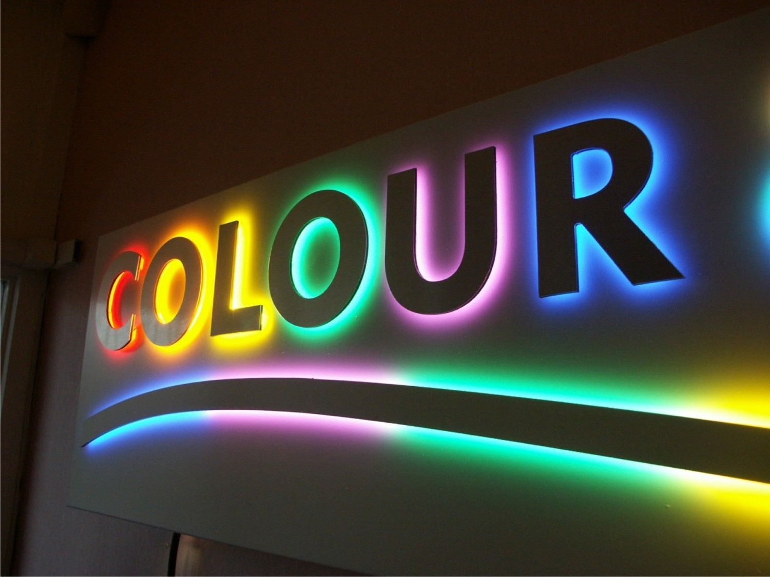 the sign gallery experts specialise in light box signs With led letter signs outdoor
