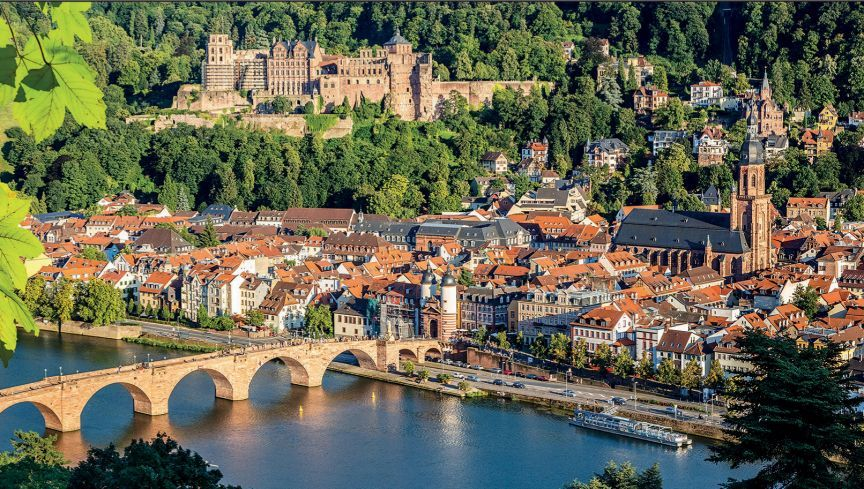 HEIDELBERG BADEN-WÜRTTEMBERG, GERMANY Heidelberg is home to Germany's  oldest university, founded in 138…   Cool places to visit, Germany castles,  Rhine river cruise