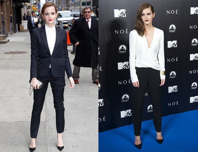 Style Muse: Emma Watson, sharp suiting