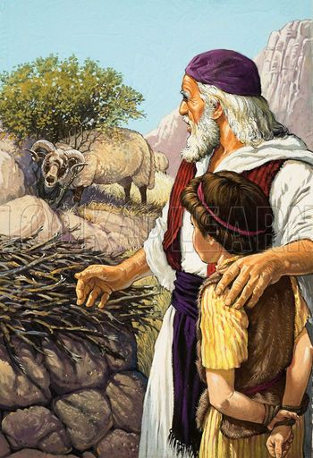 Historical Articles And Illustrations Blog Archive The Sacrifice Of Isaac Biblia Imagen Imágenes Religiosas Biblia