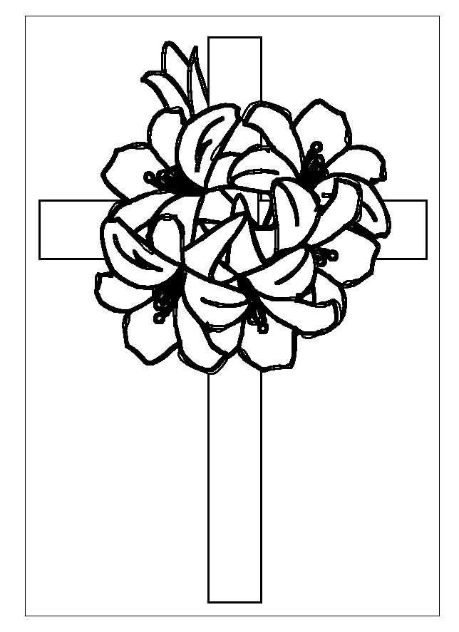 cruces de semana santa para colorear - Buscar con Google   Proyectos ...