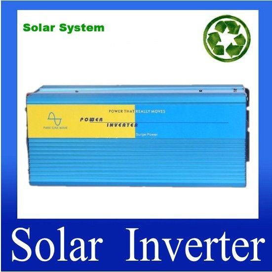 DC til AC Inverter  Manufacturers directly selling pure sine wave power inverter 3000w 48v to 220v #Affiliate