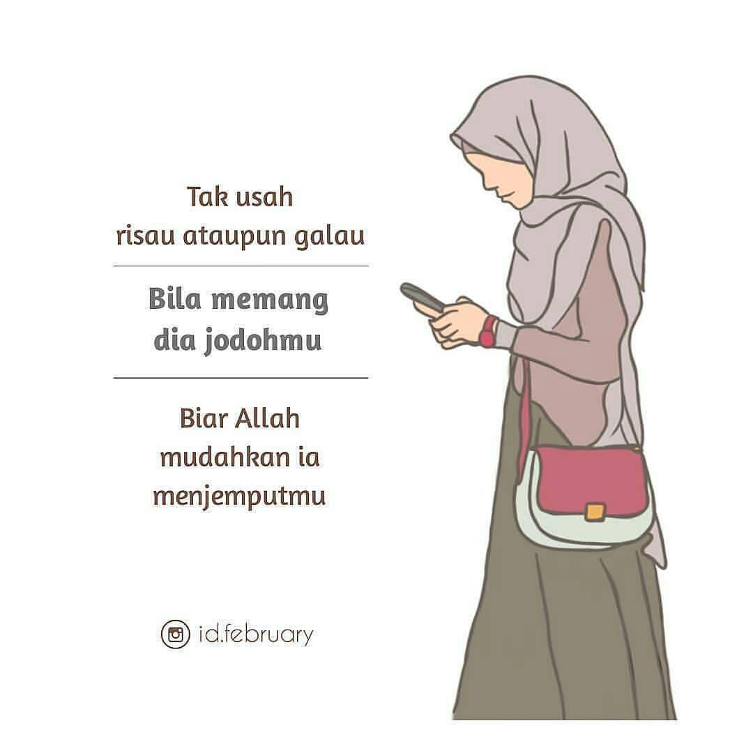 290 Kartun Muslimah Hijab Alila