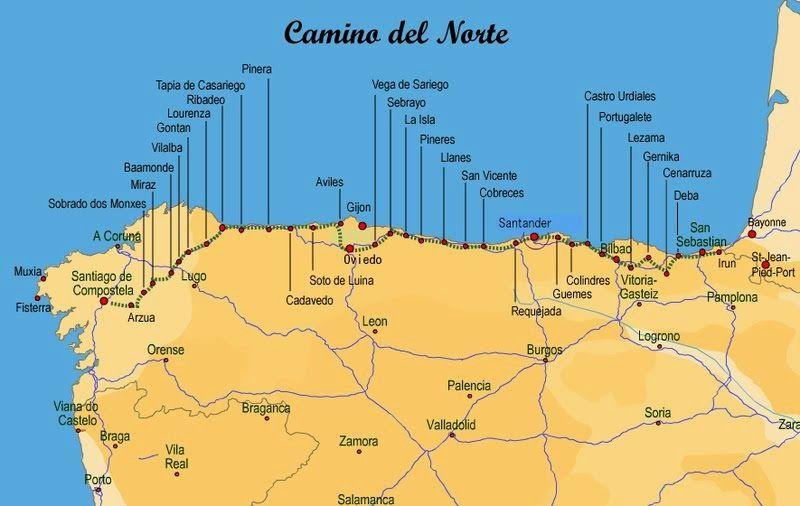 Camino Del Nord Del Camino De Santiago Wandelen Reizen Vakantie