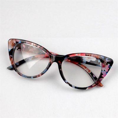 Lindo Armacao Oculos Leitura Gatinha Floral Florido Fashion - R  39 ... c0ab14eab8
