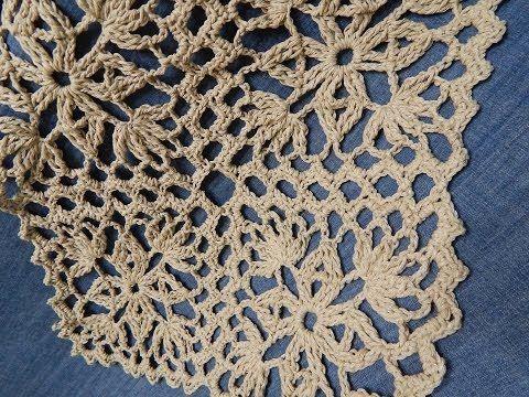 Cortina de crochê com barbante em croche filé floral   aprendendo ...