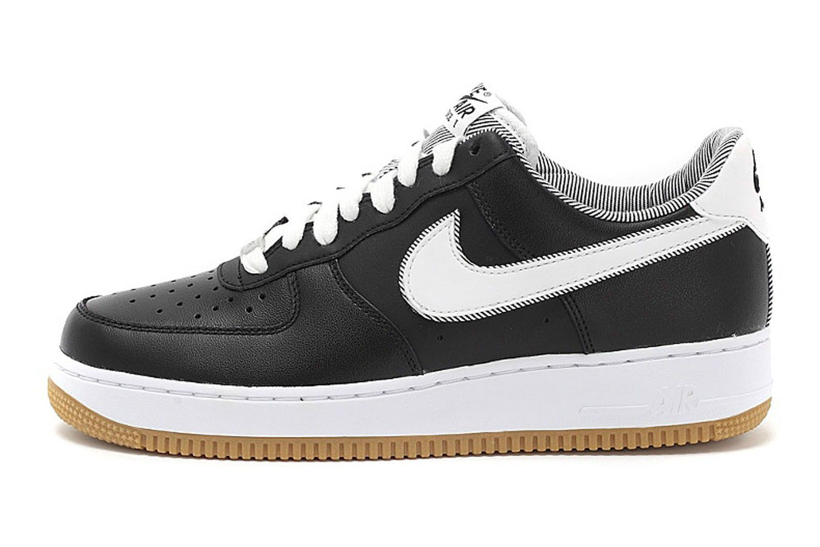 low priced 73b67 e54f7 Nike-Air-Force-1-Low-Black-White-Gum