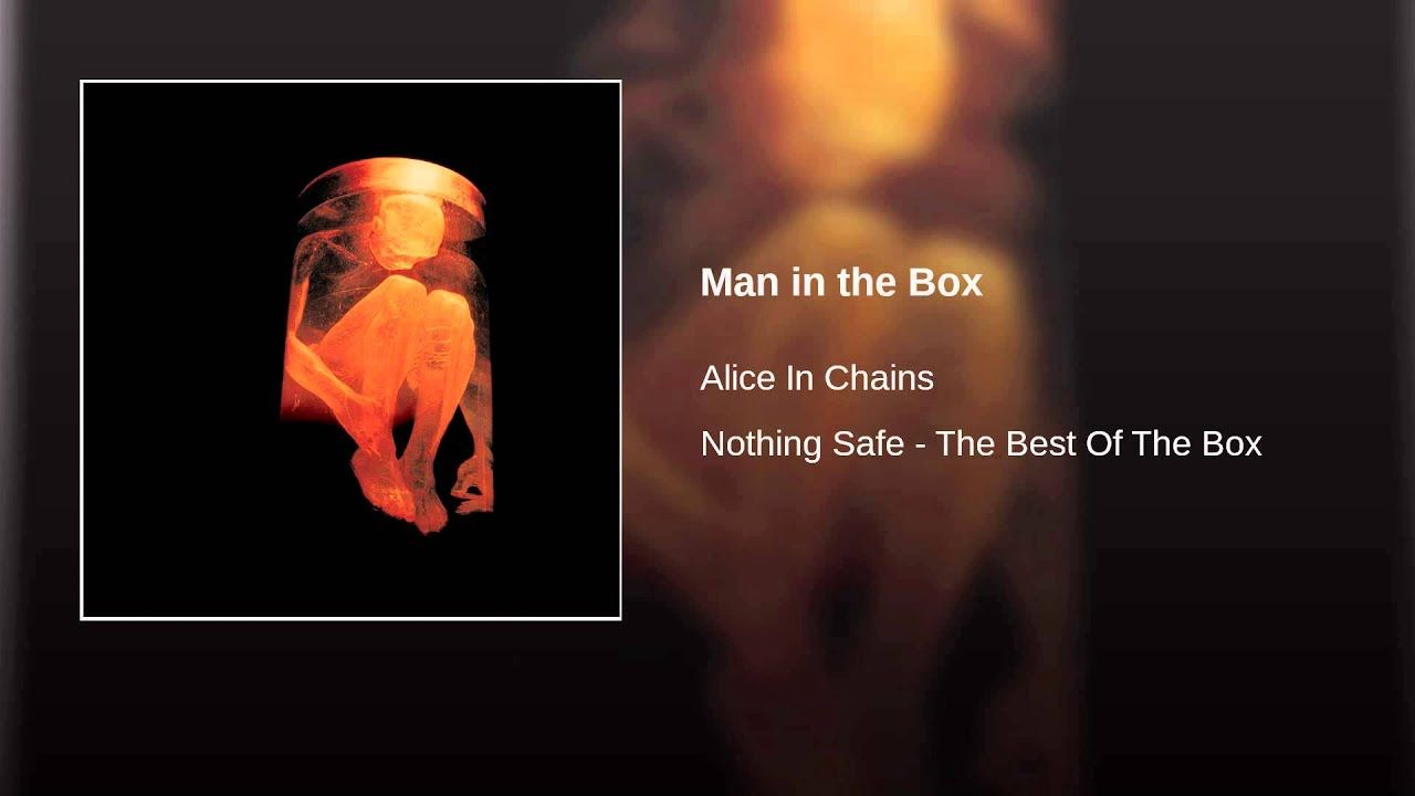 Man In The Box Alice In Chains Chains For Men Man