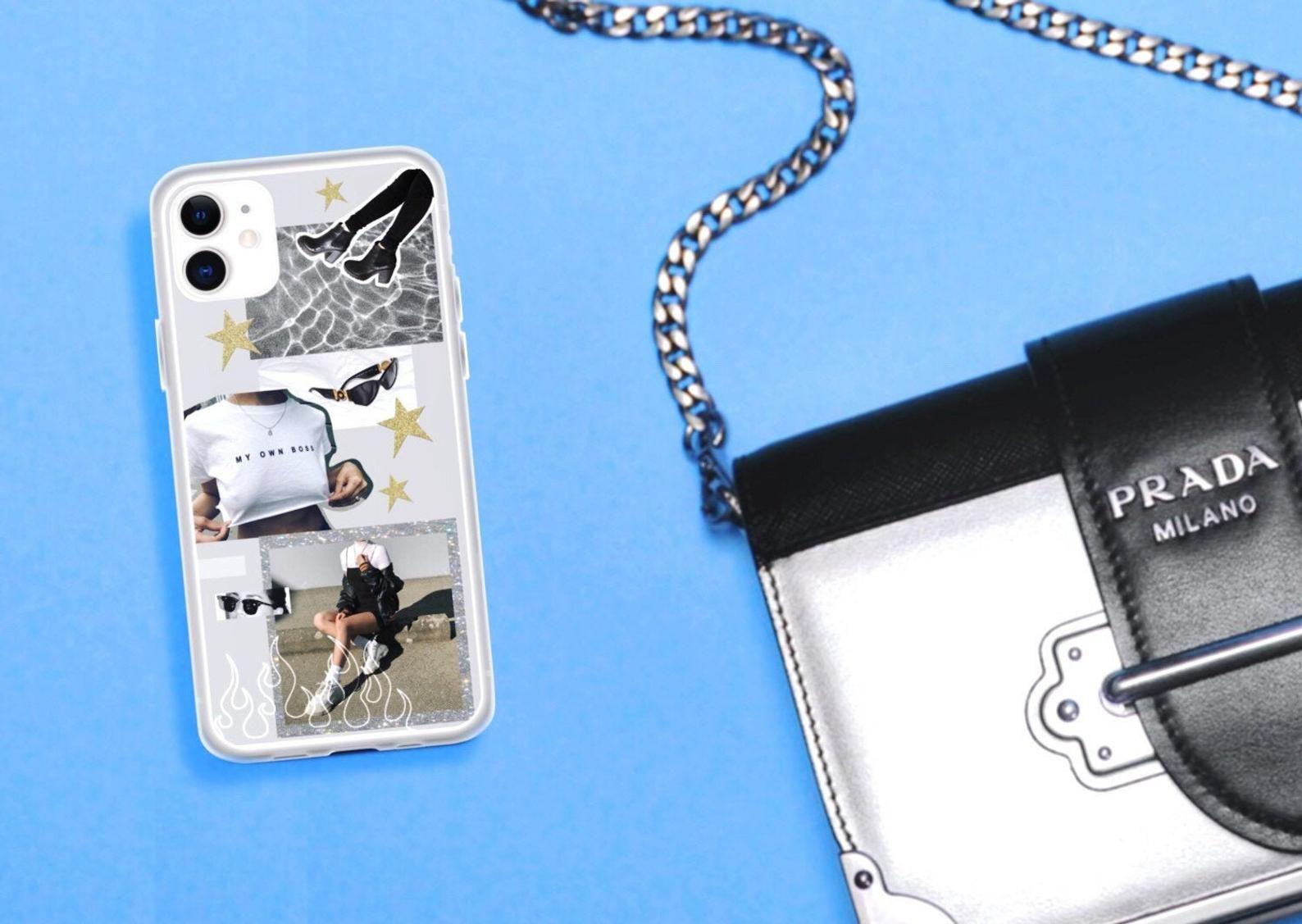 Black white aesthetic collage iphone 11 case tumblr iphone