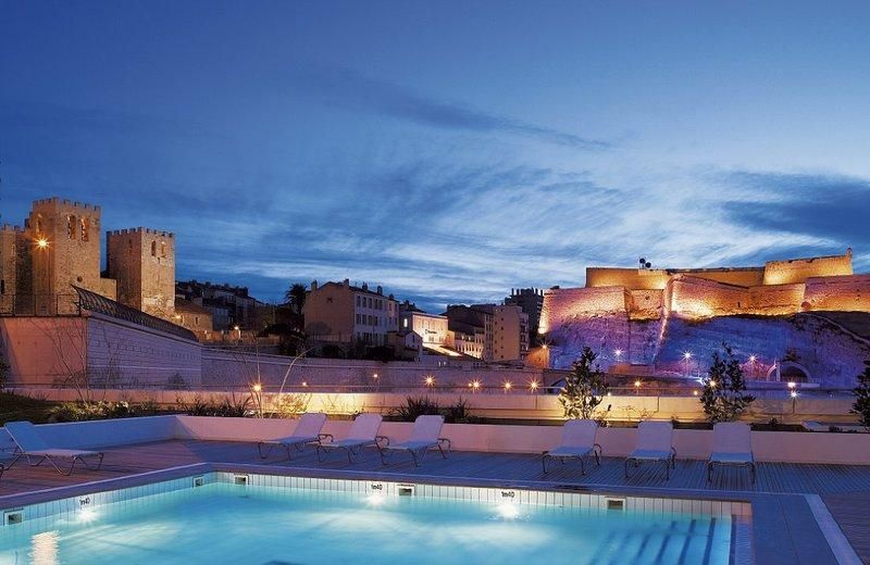 Exceptional Rooftop Swimming Pool At Radisson Blu Vieux Port In Marseille, France