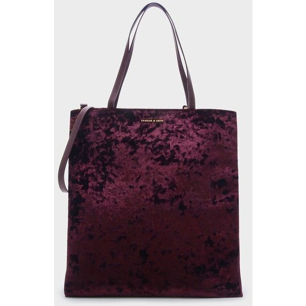 Charles   Keith SLOUCHY TOTE BAG (£37) ❤ liked on Polyvore featuring bags 8439d71972e21