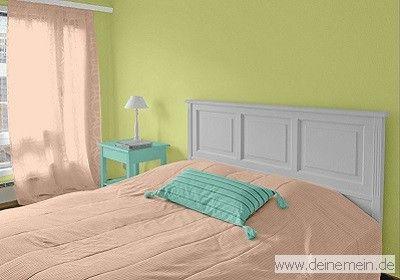 Farbkombinationen In Grun Und Gruntonen Trendtapeten In Grun Farbgestaltung Schlafzimmer Farben Farbgestaltung