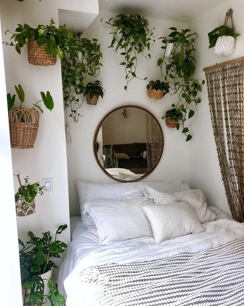 27 Gorgeous Bedrooms That'll Inspire You to Redecorate Quick upgrades to your bedroom can make all the difference. #bedroomideas