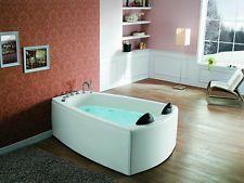 Whirlpool indoor 2 personen  2 Personen Duwilux Whirlpool Francisco 180x120 Badewanne ...